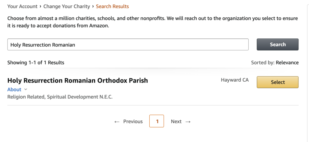 How to sign up for AmazonSmile - Parohia Invierea Domnului