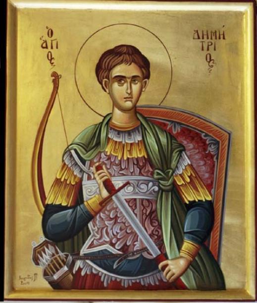 Sfantul Dumitru Izvoratorul de Mir   Sf. Dimitrie